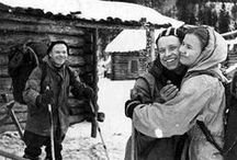 Dyatlov Pass Incident / The mysterious deaths of nine ski hikers in the northern Ural mountains on the night of February 2, 1959.