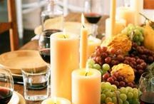 Thanksgiving Dinner Decor