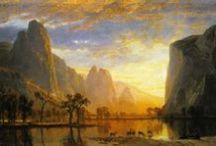 Albert Bierstadt Painting Art Wallpapers Background Images