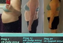 Before and Afters / Pics to help us keep motivated...