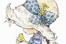 Sarah Kay - Illustratrice / Magnifiques dessins de cette grande artiste qui a bercé mon enfance.