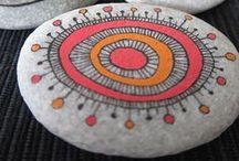 Rocks (Painted, engraved...)