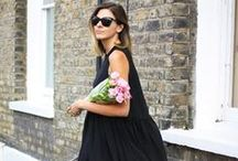 Style Tonic: The Weekend / Trading in your little black book for your little black dress.