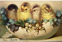 Vintage - Easter / Part of my Vintage Board Collections - Christmas, Oh Boy, Ads and this one!