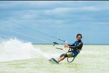 KITESURFING / kitesurf in the lagoon