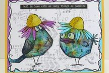 Crazy Birds Tim Holtz / crazy birds tim holtz