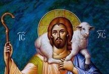 Christ the Good Shepherd / by İ.Naci Zeyrek