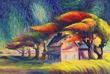 Vincent van Gogh / Alles van Vincent van Gogh.☀️☀️☀️