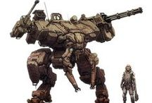 MANGA, ANIME, MECH,GUNDAM,DRAGON,KNIGHT,GOLEM,ROBOT, SOLDIER, TANK
