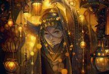 oc: Do not follow the light / dark elf   M   lights   alchemy   gold