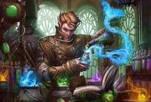 oc: Turn every dream into reality / half-elf   M   magic   magic   and even more of MAGIC
