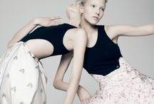M O D E L  T E S T / Ideas for model test shoot styling, hair and make up