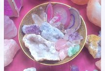 Crystallize / My love of crystals abounds.  I am so enchanted with meeting them, learning them & from them, feeling into their energy & aligning with their teachings ... They are so much fun!