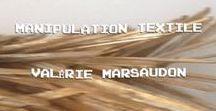 FAHION DESIGNER / Manipulation textile  tissage architectural  Valérie Marsaudon