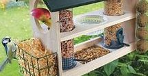 Pour les oiseaux du jardin / Mangeoires, nichoirs, bains, déco