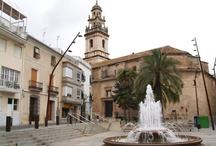 Monumentos de Pego / Lugares a visitar en Pego: Iglesia de la Asunción, Capilla del Ecce-Homo, Convento franciscano, Casa de Cultura, Portal de Sala