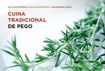 Guía gastronómica de Pego / Editada en 2011 por la concejalía de turismo del Ayuntamiento de Pego. Recetas de las Amas de Casa de Pego. Se puede descargar en: http://www.pegoilesvalls.es/guias/guiagastronomica2011.pdf
