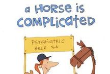 """A horse is… / Kentucky Performance Products mascot EJ illustrates what """"a horse is"""" for its clients."""