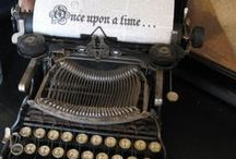 Typewriters / Also, see my boards: Writing/Books/Literary, Poets & Poetry, Literary Video/Audio, and News/Media. Videos here are also on my Videos board. GIFs here are also on my GIFs board. / by Nina L. Diamond