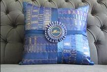 Horse Show Ribbons / Beautiful horse show ribbons and ideas on how to display them.