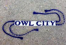 Owl city!!?! / Sing all the das!