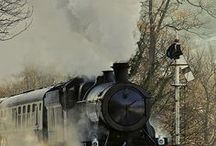 I Love Trains / If it has to do with trains, it's here. Also, see my boards: U.S. History, Philly, World History, History Videos, Beautiful Places, and Maps. Videos here are also on my Videos board. GIFs here are also on my GIFs board. / by Nina L. Diamond