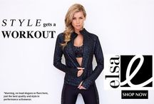 Activewear / Gorgeous gear to workout in. www.elsa.com.au