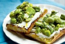 On toast / Savoury treats for late mornings and mid afternoons