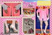 Spring / Summer Fashion / Spring Summer style Fashion. Outfit ideas , accessories and more.