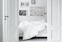 White Interiors / Simple White Interior Inspiration, Clean and Classic