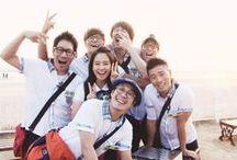 RUNNINGMAN (런닝맨) / Kang Gary Song Ji Hyo Yoo Jae Suk Kim Joong Kook Lee Kwang Soo Ji Suk Jin Ha Dong Hoon / by ALYYA DJAMAL اليجمل