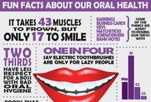 Dental Did You Know's? / #Dental #Health & #Hygiene tips that you should know but maybe you didn't!