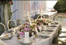 Wedding Tables / The atmosphere designed to your needs, designed to make you feel like home