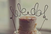 Wedding Cake Toppers by AntoArts / Personalized Cake Toppers