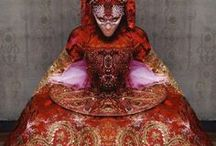 Haute couture & Costume / Haute Couture Outfits & Beautiful Costumes for Film and Stage.