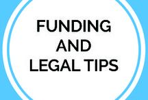 Funding and Legal tips | Legal Corner / Funding business, funding ideas, funding, how to fund your business, how to seek legal aid for business.  How to save your business from getting copied, IPR for your business, types of investment good for your business, tips and more. All covered here.