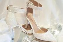 Rhinestone Bling Wedding Shoes / All custom shoes available at www.TheDecoKraft.com.