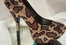 Party Shoes / All custom shoes available at www.TheDecoKraft.com.