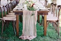 Wedding table decorations / Ideas for wedding table decorations
