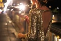 Party Outfits 2018 / From sparkly mini dresses to opulent maxi dresses, beaded purses and silky jackets.