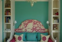 {bedrooms & reading spaces}