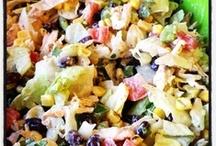 {salad & pasta recipes}