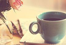 Coffee. Tea. Books