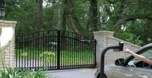 Driveway Gate Accessories | ALEKO / Automatic driveway gates are a great addition to any home design. Automatic gate accessories are the key to easy operation! Browse sliding gate chains, automatic gate keypads, solar gate openers, and other necessities.