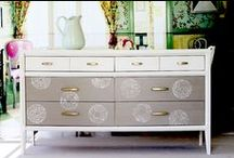 Inspiring Painted Furniture / Painted Furniture that inspires me