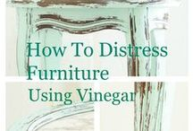 Distressing Techniques / How to get the looks you want on furniture