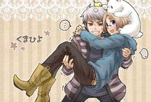 Prussia and Canada / Cause I ship them so hard