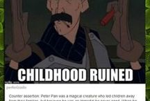 Boom Childhood Ruined / Boom and your childhood is ruined. (Sorry I think)