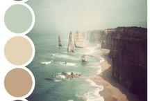 Colours / Colour palettes and inspiration