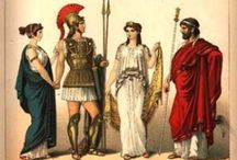 Ancient Times / Egyptians and Romans and Greeks, oh my! From toga inspiration to Queen Cleopatra.